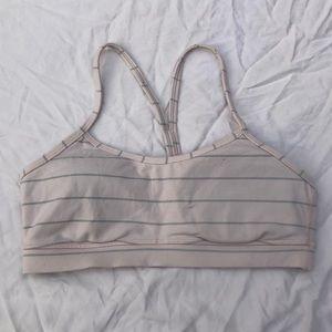 Lululemon flow Y bra; size 8
